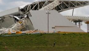 Stadium collapse