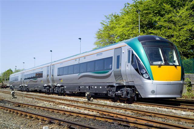 Irish rail train