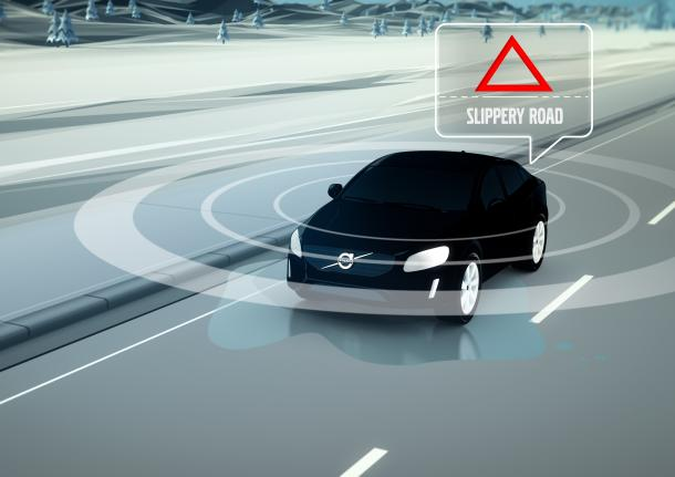 New Volvo software to warn drivers of bad road conditions – The
