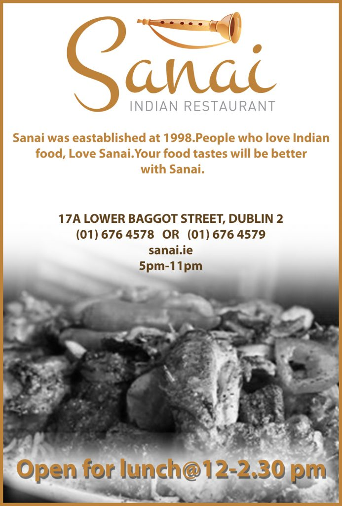 Sanai Restaurant fin