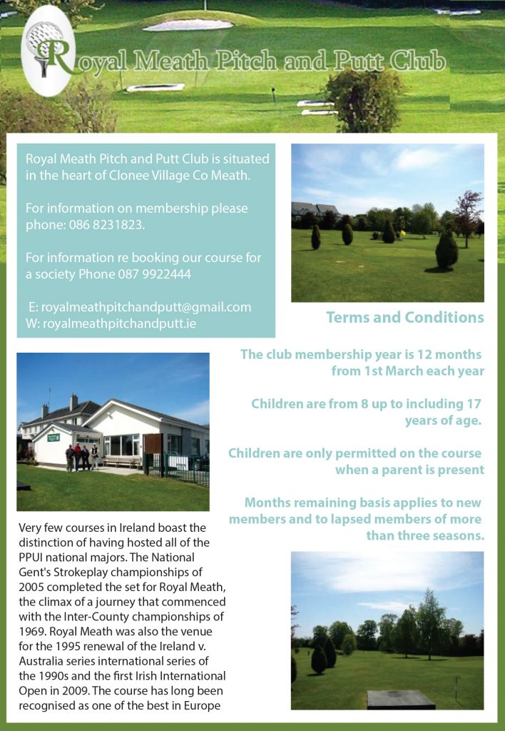 Royal Meath Pitch and Putt Club
