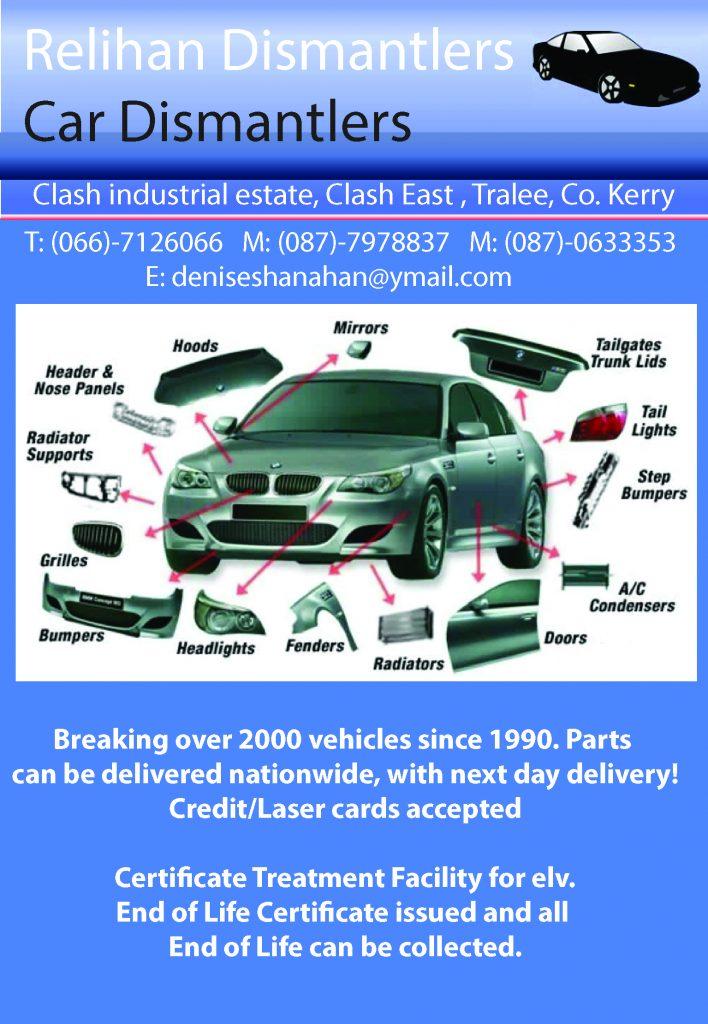 Relihan Dismantlers Car Dismantlers