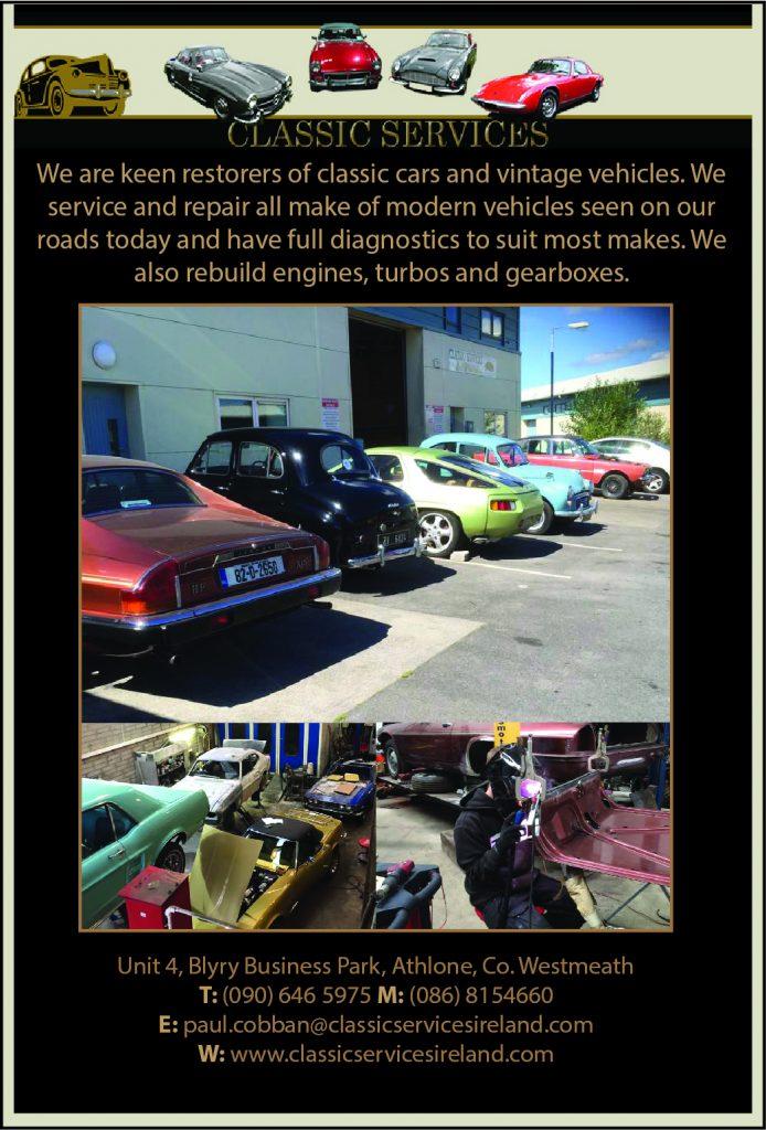 Classic Car Services Ireland