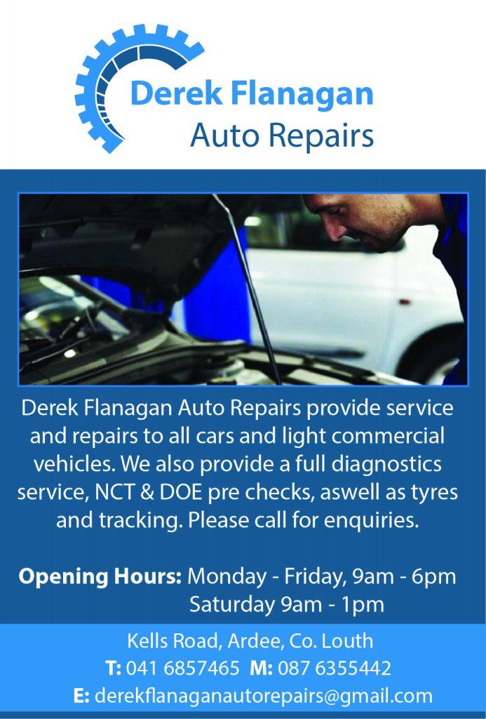 Derek Flanagan Auto Repairs fin
