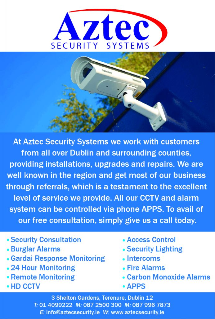 Aztec Security Systems finish