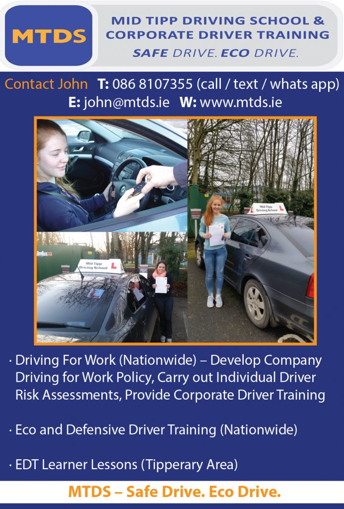 Mid Tipp Driving School (John McGrath) 2