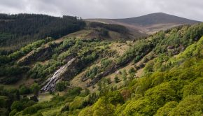 Powerscourt-Waterfall-tallest-waterfall-in-Ireland-and-Deerpark-part-of-Wicklow-Mountains-National-Park