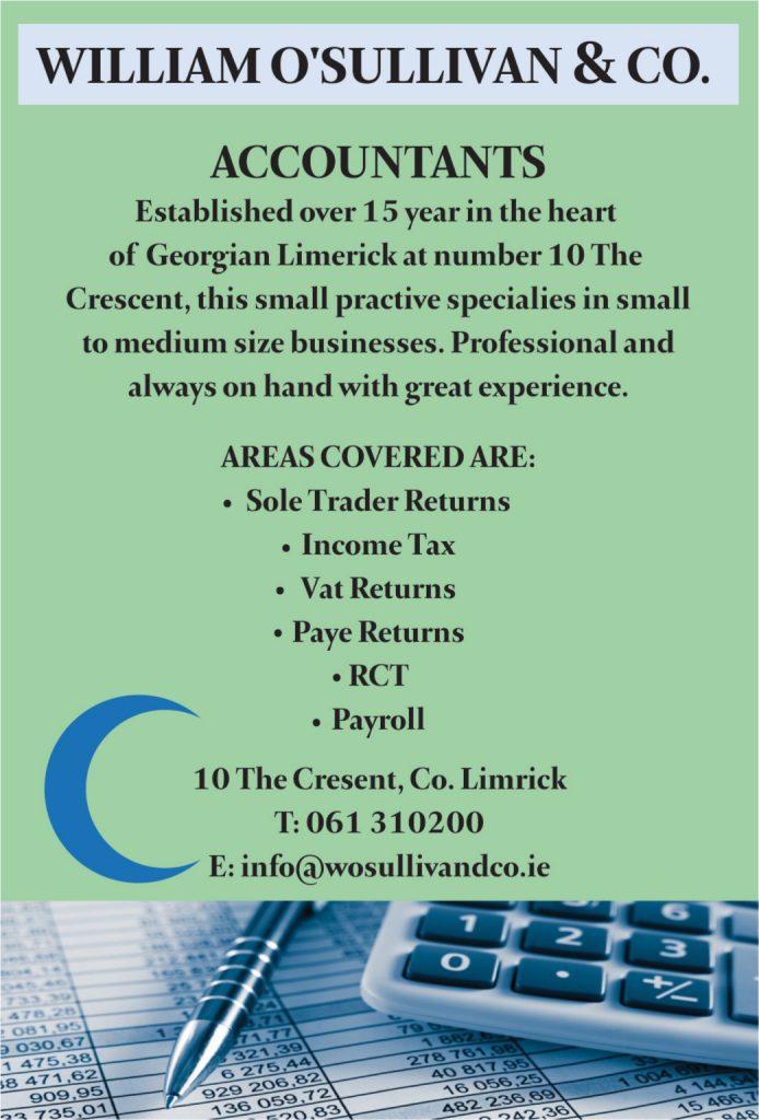 William O'Sullivan & Co Accountants web