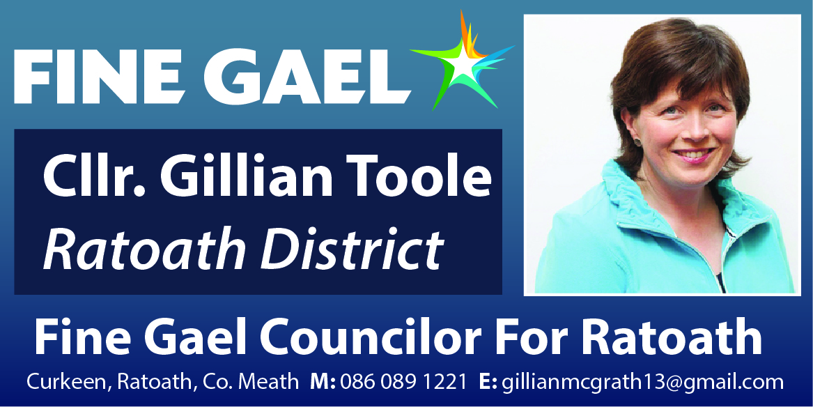 Cllr. Gillian Toole Meath County Councillor