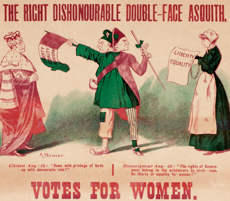 On This Day: Women Got The Vote In Ireland 100 Years Ago