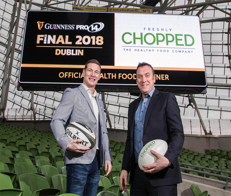 Guinness PRO14 Announce Partnership With Freshly Chopped