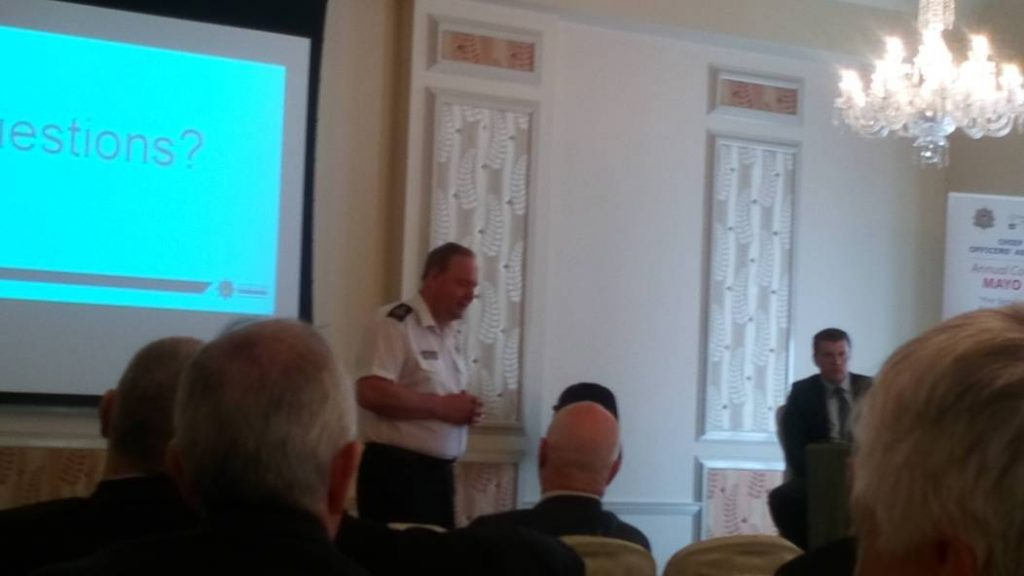The first Chief Officer of the national Scottish Fire & Rescue Service, Alasdair Hay spoke about how Scotland's fire services merged from eight fire services into one