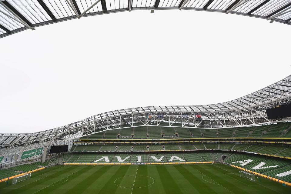 Inaugural Dublin South Central Garda Youth Awards Launch at Aviva Stadium Today