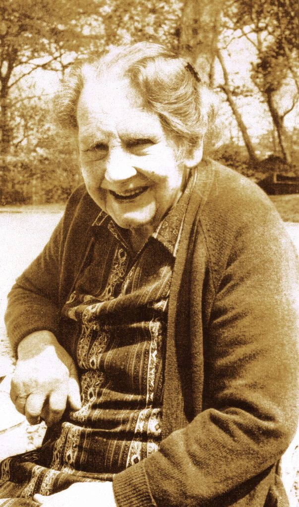 Christina McAvinia in 1981.