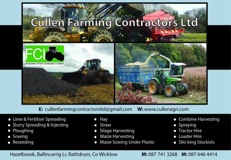 Eamon Cullen Agricultural Contractors 188mm X 130mm
