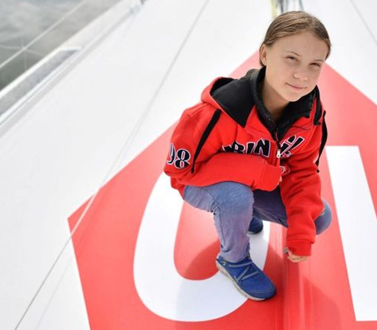 How green is Greta Thunberg's transatlantic trip?