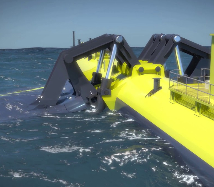 Built in Scotland – 'World's Most Powerful' Floating Tidal Turbine