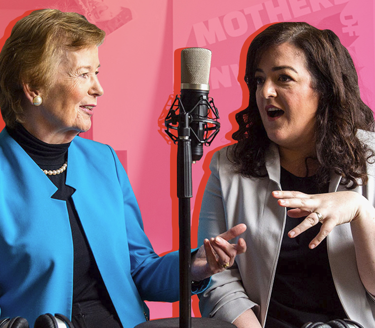 Mothers of Invention – Comedian and writer Maeve Higgins & former Irish President Mary Robinson