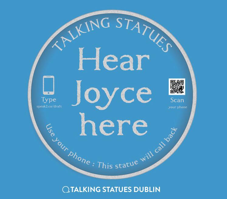 Talking Statues Dublin