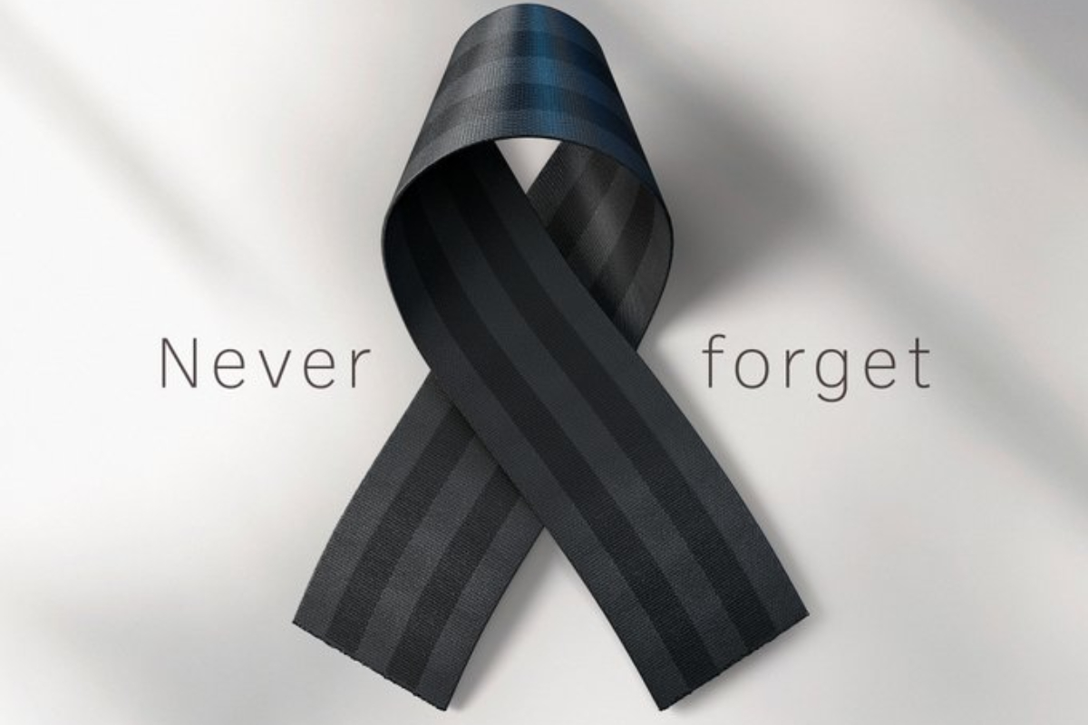 Road Safety Authority and Gaelic Players Association ask road users to 'Never Forget' to wear a seat belt