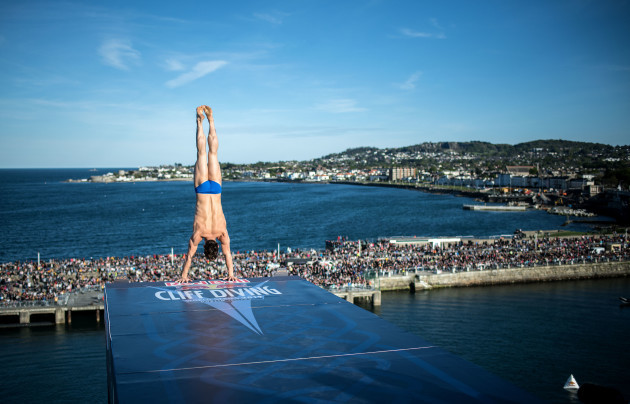 Red Bull Cliff Diving World Series Returns To Ireland This September